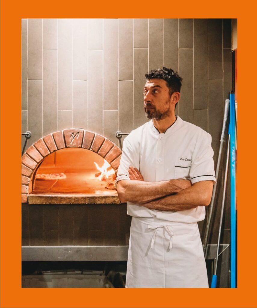 Luca Lanzano, Maestro Pizzaiolo in TV con il Social Eating per la seconda puntata!