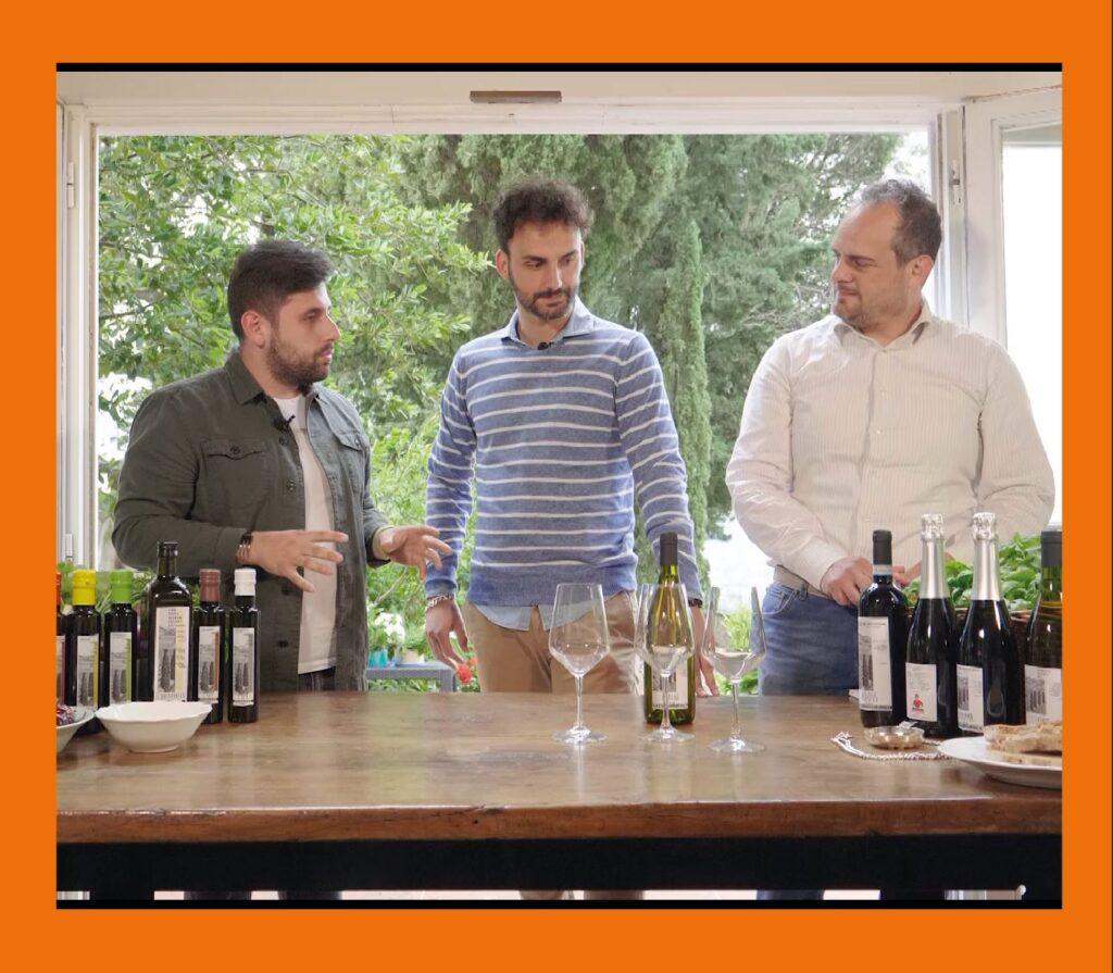 Bottle-Up, azienda di nicchia dell'enogastronomia, ospite della quarta puntata di Experience